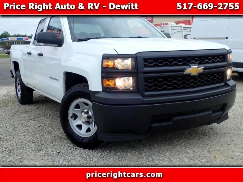 "Chevrolet Silverado 1500 2WD Double Cab 143.5"" Work Truck w/1WT 2014"