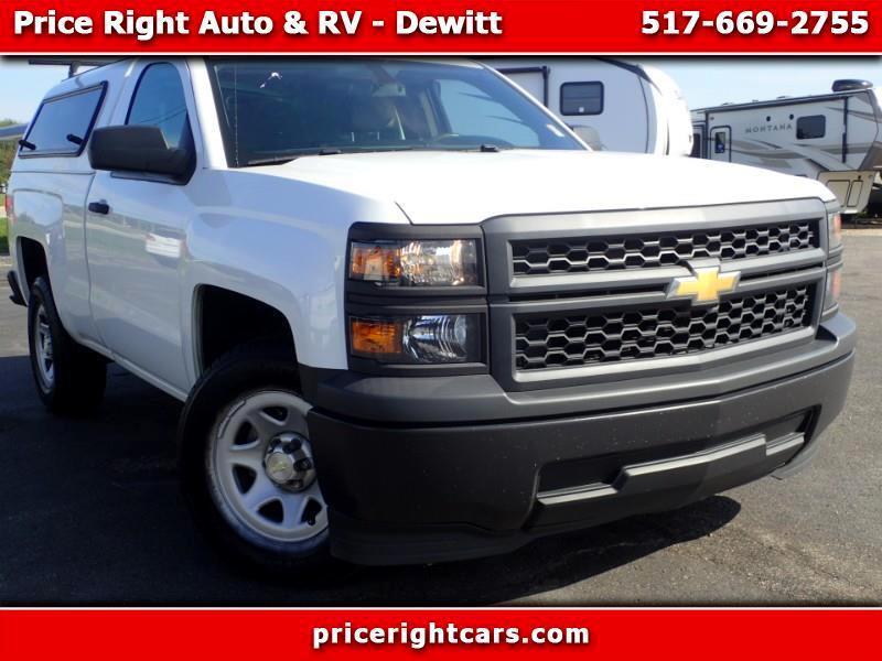 """2014 Chevrolet Silverado 1500 2WD Reg Cab 119.0"""" Work Truck w/1WT"""