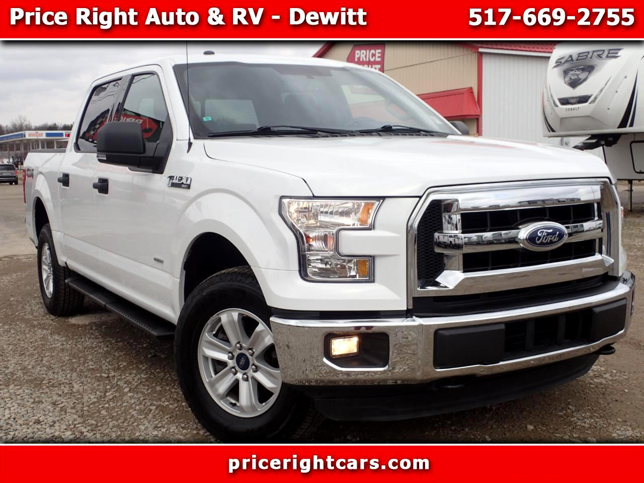"Ford F-150 4WD SuperCrew 139"" XLT 2016"