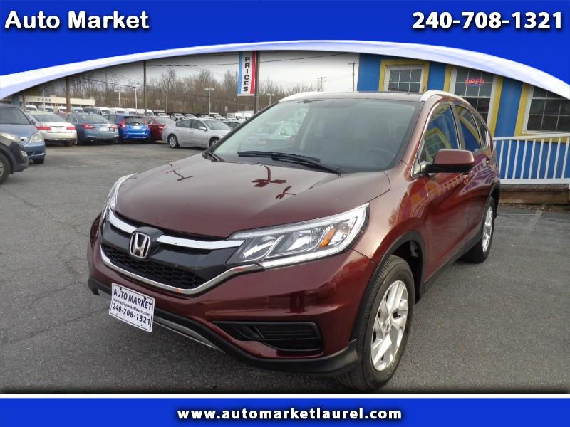 Honda CR-V EX-L 4WD with Navigation 2016