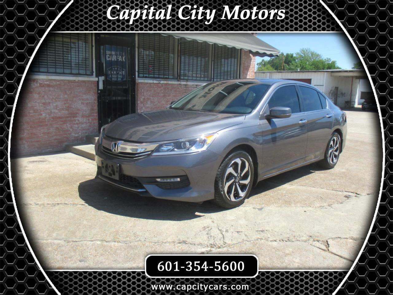 2016 Honda Accord Sedan 4dr I4 CVT EX-L