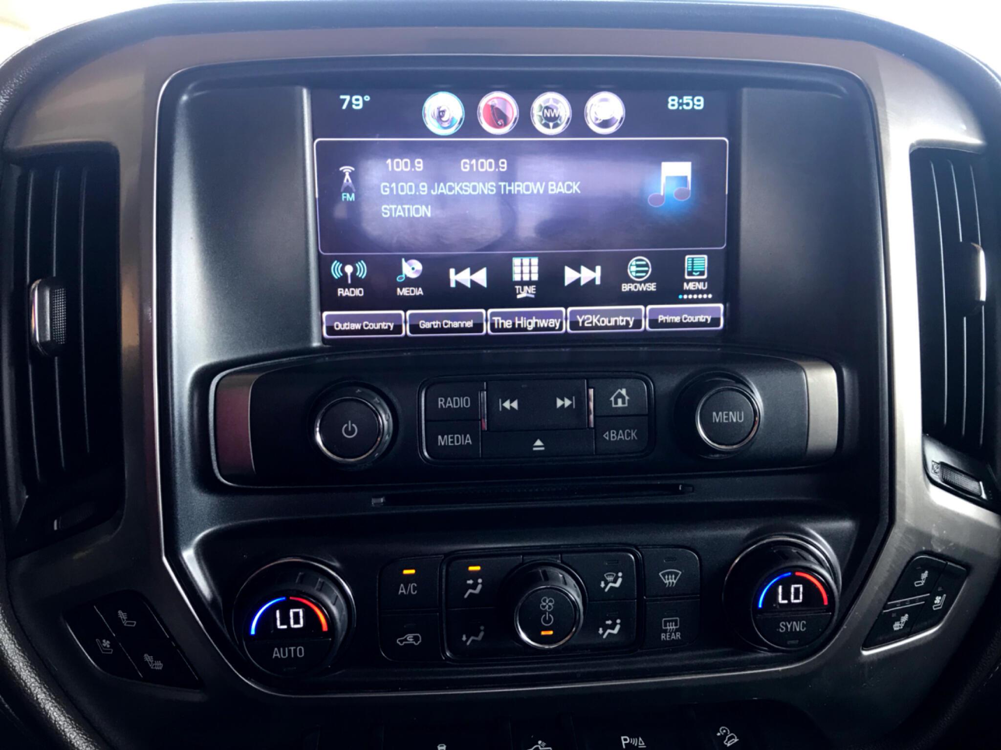 2016 Chevrolet Silverado 1500 Z71 Crew Cab 4WD