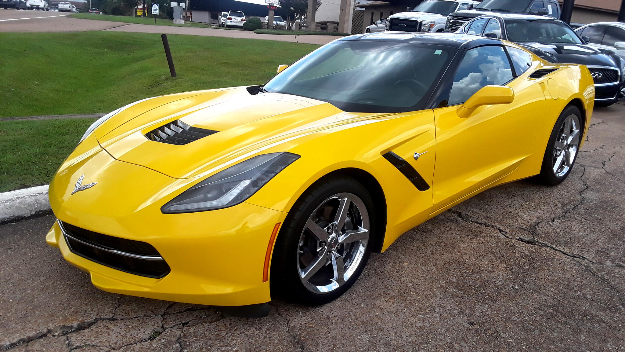 2015 Chevrolet Corvette 2dr Stingray Cpe w/3LT