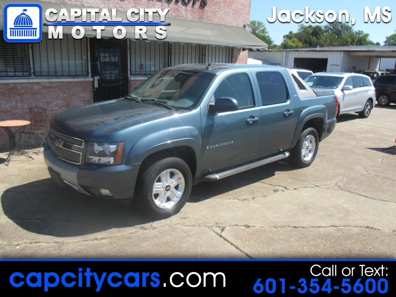 "2009 Chevrolet Avalanche 4WD Crew Cab 130"" LT w/2LT"
