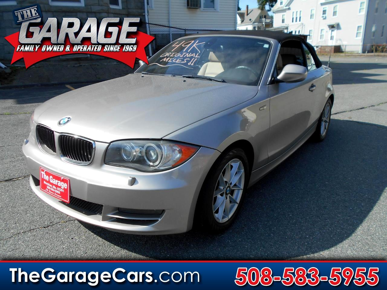 2011 BMW 1-Series 128i Convertible