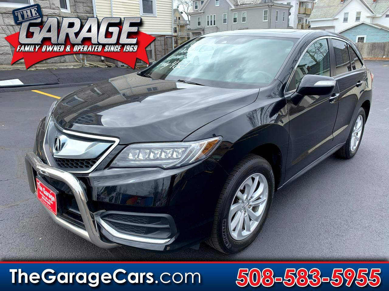 Acura RDX 6-Spd AT AWD 2016
