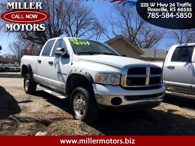 2003 Dodge Ram 2500 ST Quad Cab Short Bed 4WD