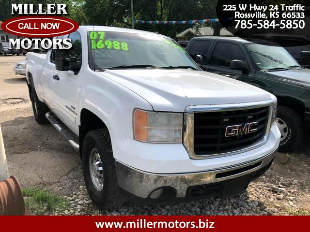 2007 GMC Sierra 2500HD SLT Ext. Cab Short Bed 4WD