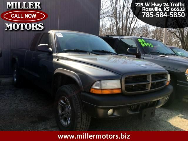 2003 Dodge Dakota Sport Club Cab 4WD