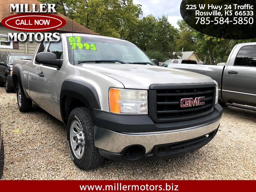 2007 GMC Sierra 1500 Ext. Cab 6.5-ft. Bed 2WD