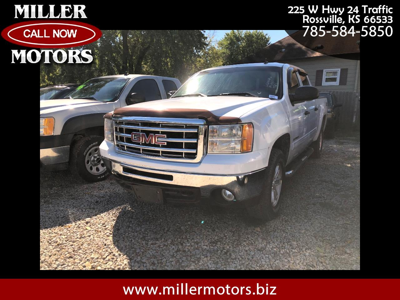 2011 GMC Sierra 1500 SLT Ext. Cab Short Bed 4WD
