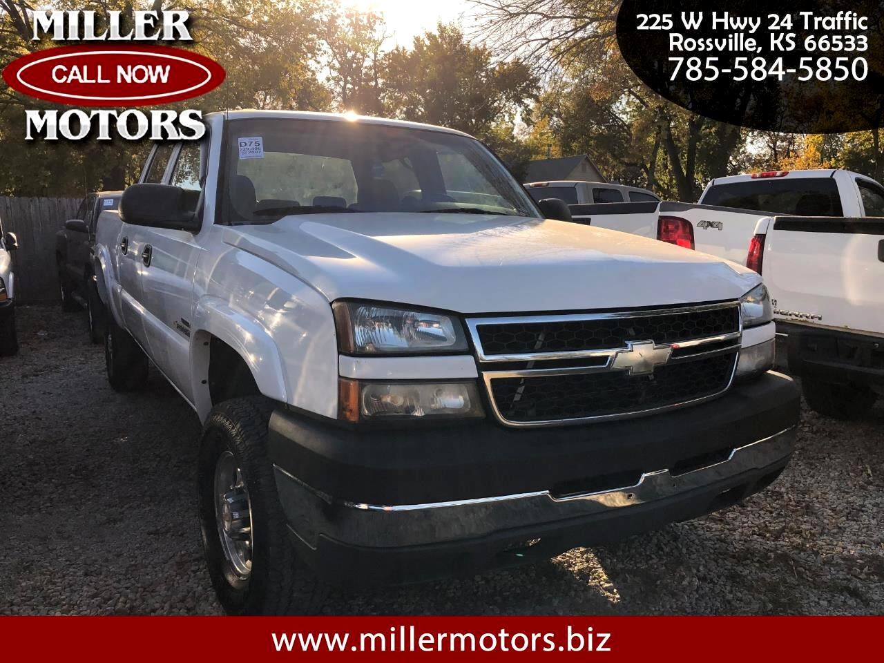Used Cars For Sale Rossville Ks 66533 Miller Motors 2007 Silverado 2500hd Fuel Filter Chevrolet Classic 4wd Crew Cab 153 Lt2