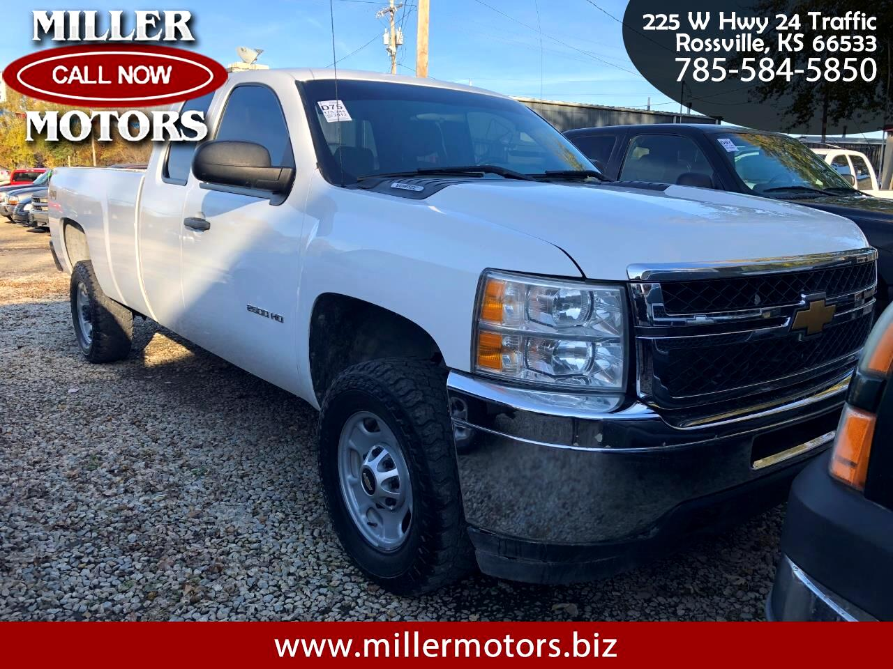 2012 Chevrolet Silverado 2500HD Ext. Cab Long Bed 4WD