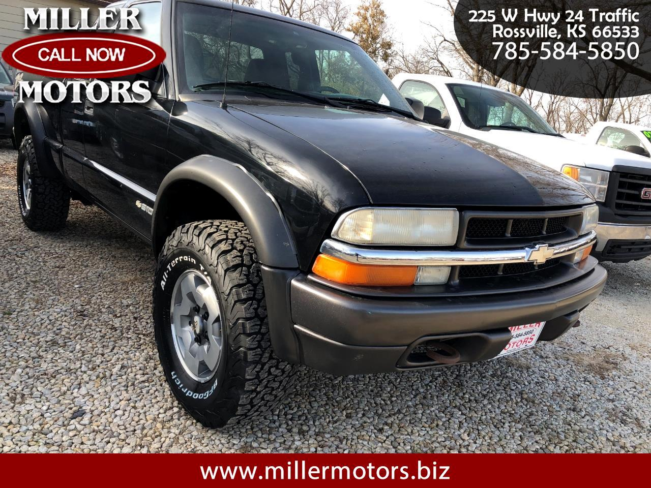 2003 Chevrolet S-10 Ext Cab 123