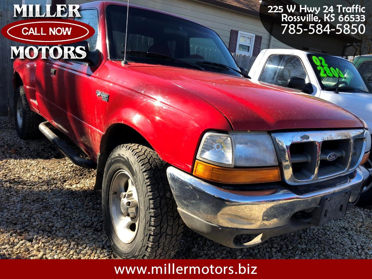 2000 Ford Ranger XLT SuperCab 4WD
