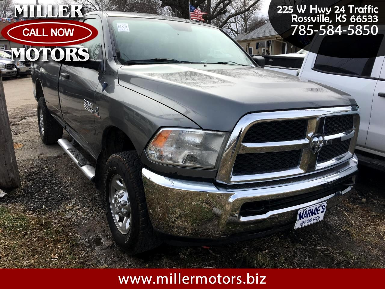 2013 RAM 2500 Tradesman Regular Cab 4WD