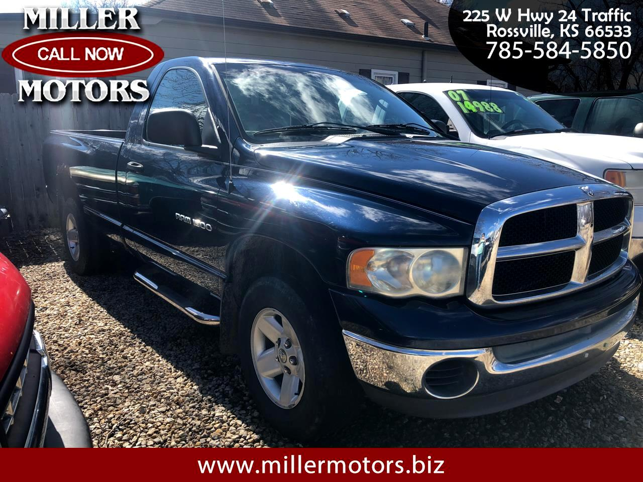 2003 Dodge Ram 1500 Reg. Cab Short Bed 4WD