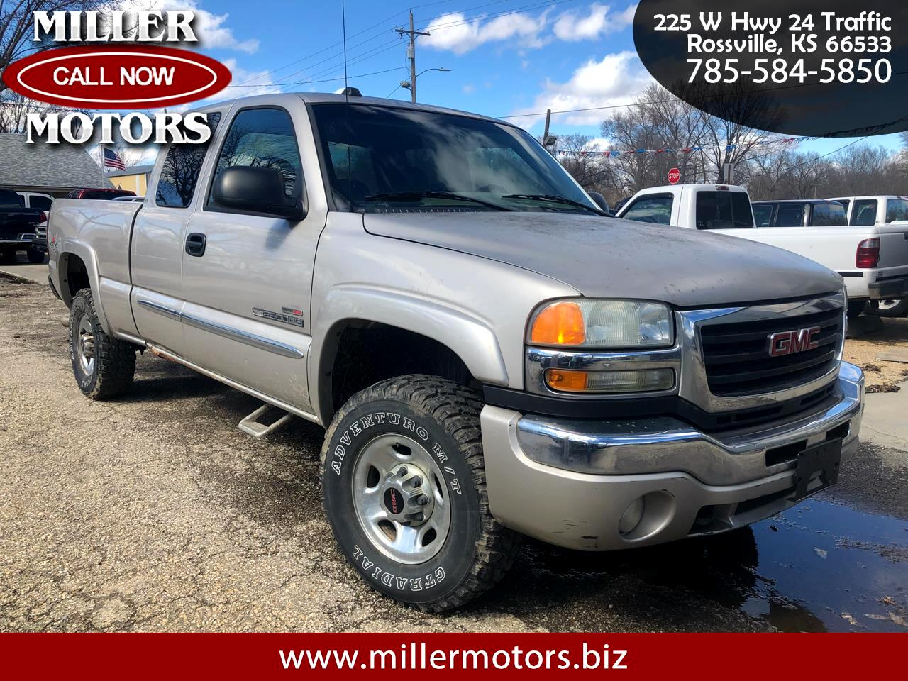 2004 GMC Sierra 2500HD Ext. Cab Short Bed 4WD