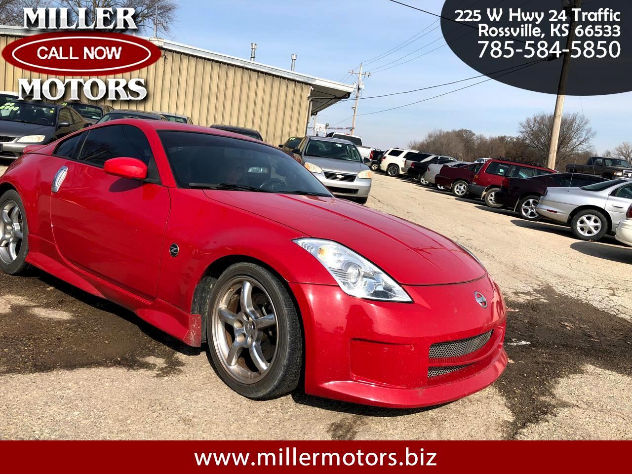 2006 Nissan 350Z 2dr Cpe Enthusiast Manual