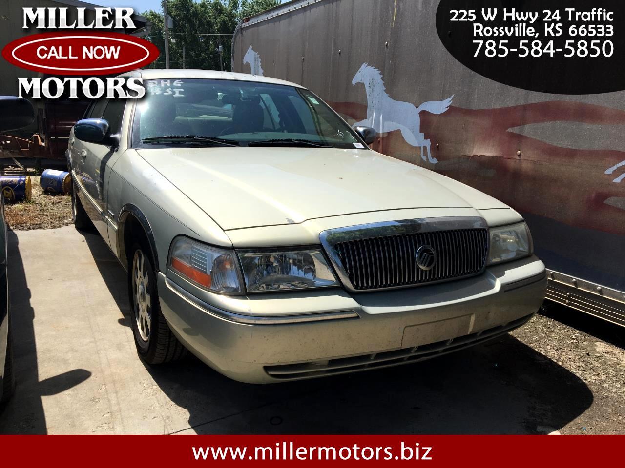 Mercury Grand Marquis 4dr Sdn LS Premium 2003