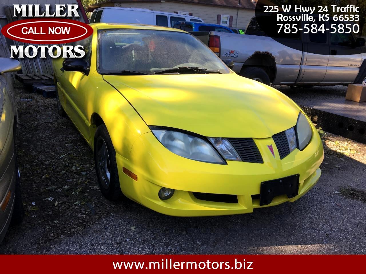 Pontiac Sunfire 2dr Cpe 2004