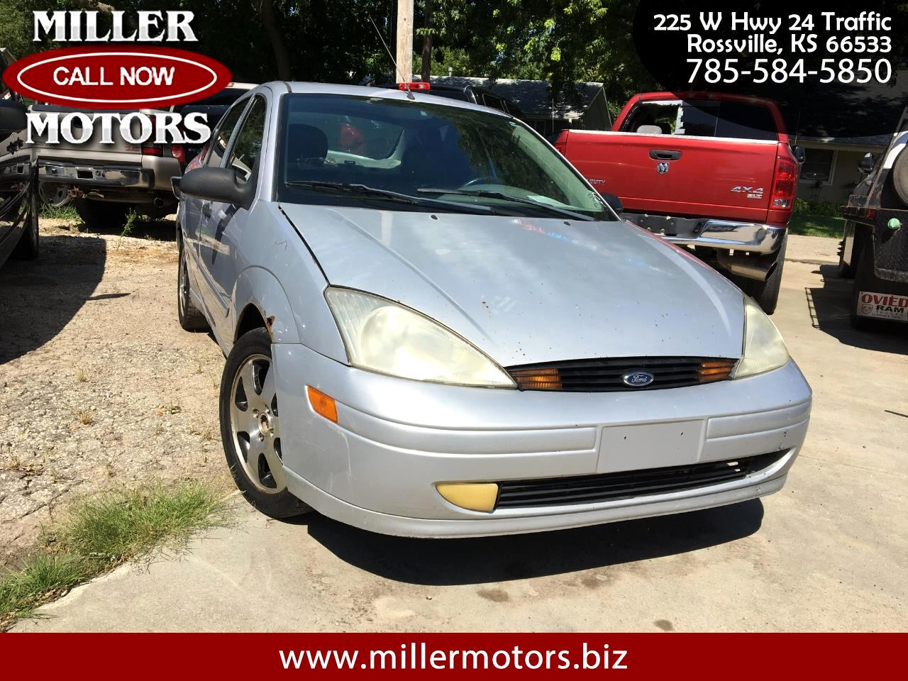 2002 Ford Focus 4dr Sdn ZTS