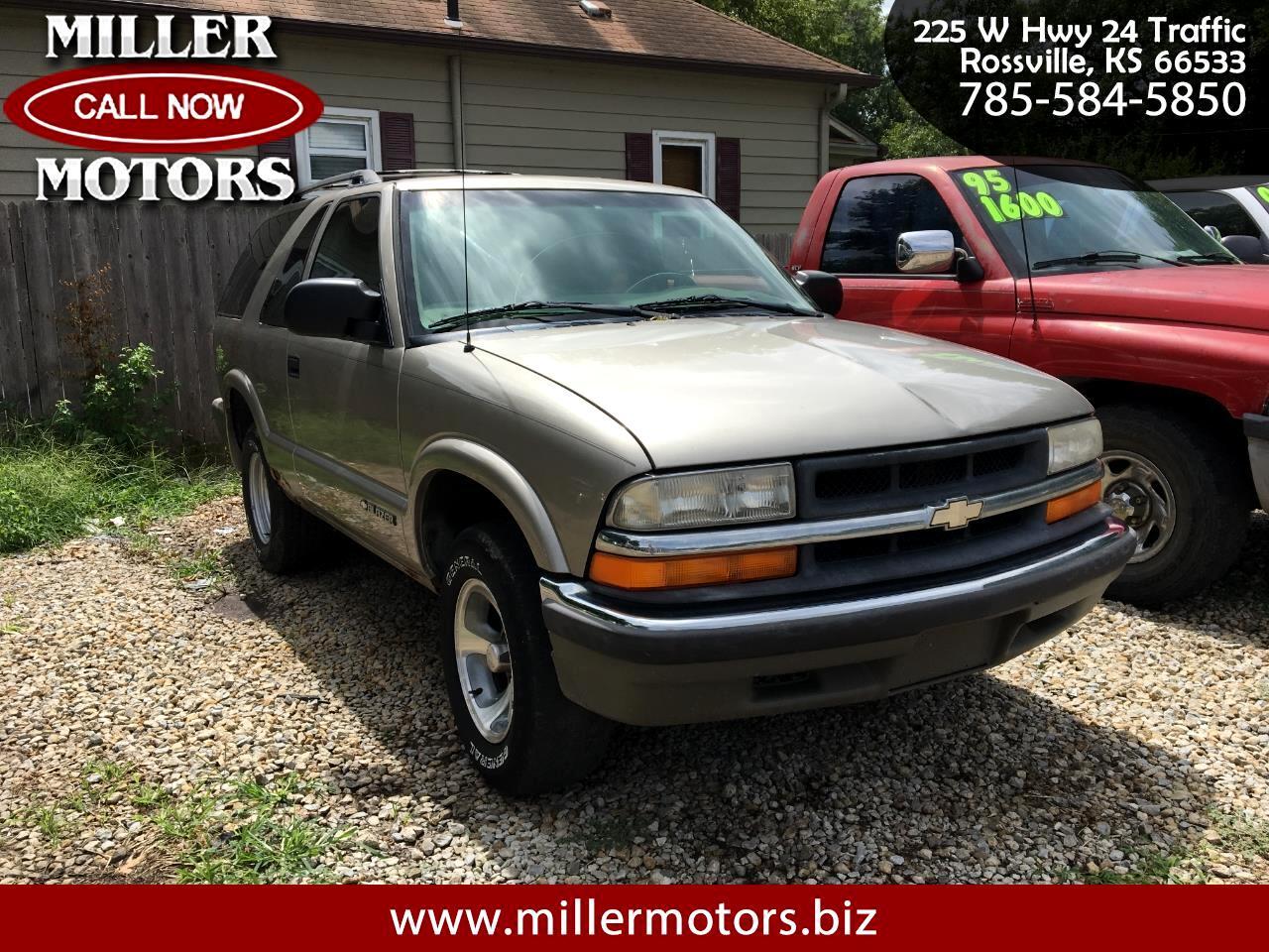2000 Chevrolet Blazer 2dr LS