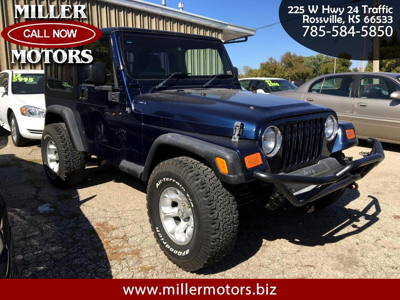 2004 Jeep Wrangler 2dr Sport Right Hand Drive