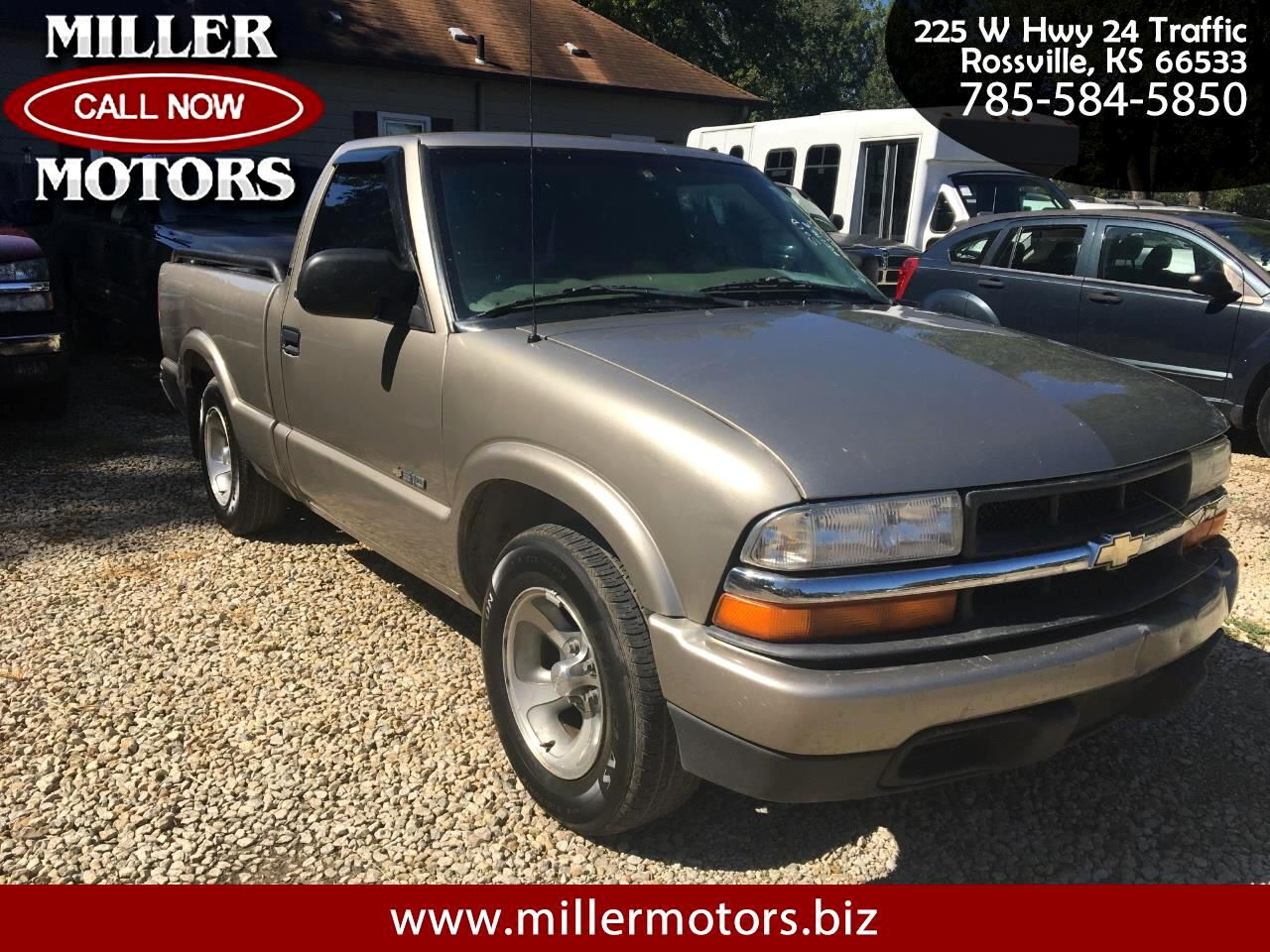 Chevrolet S-10 LS Reg. Cab Short Bed 2WD 1999