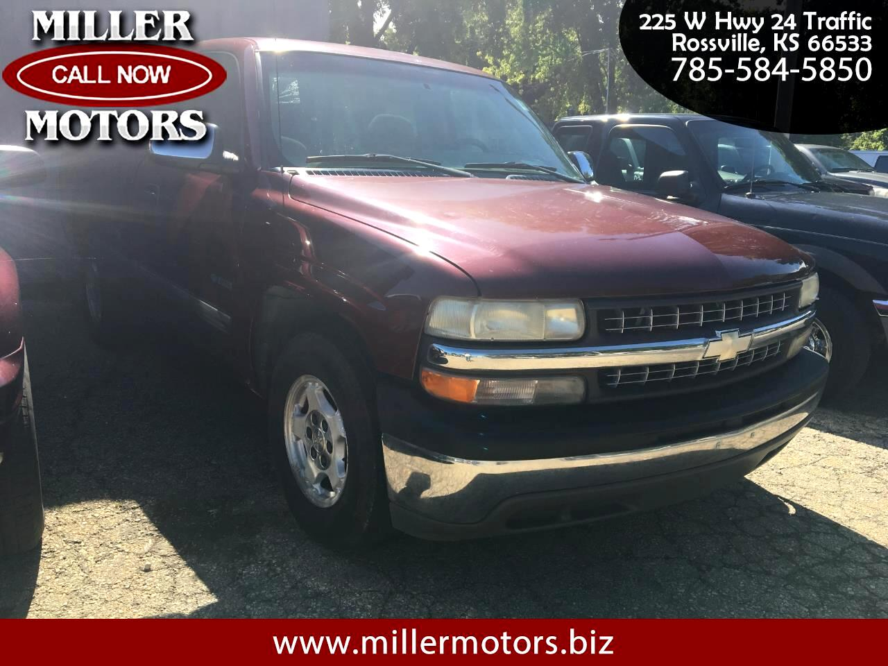 Chevrolet Silverado 1500 LS Regular Cab Short Bed 2WD 2002