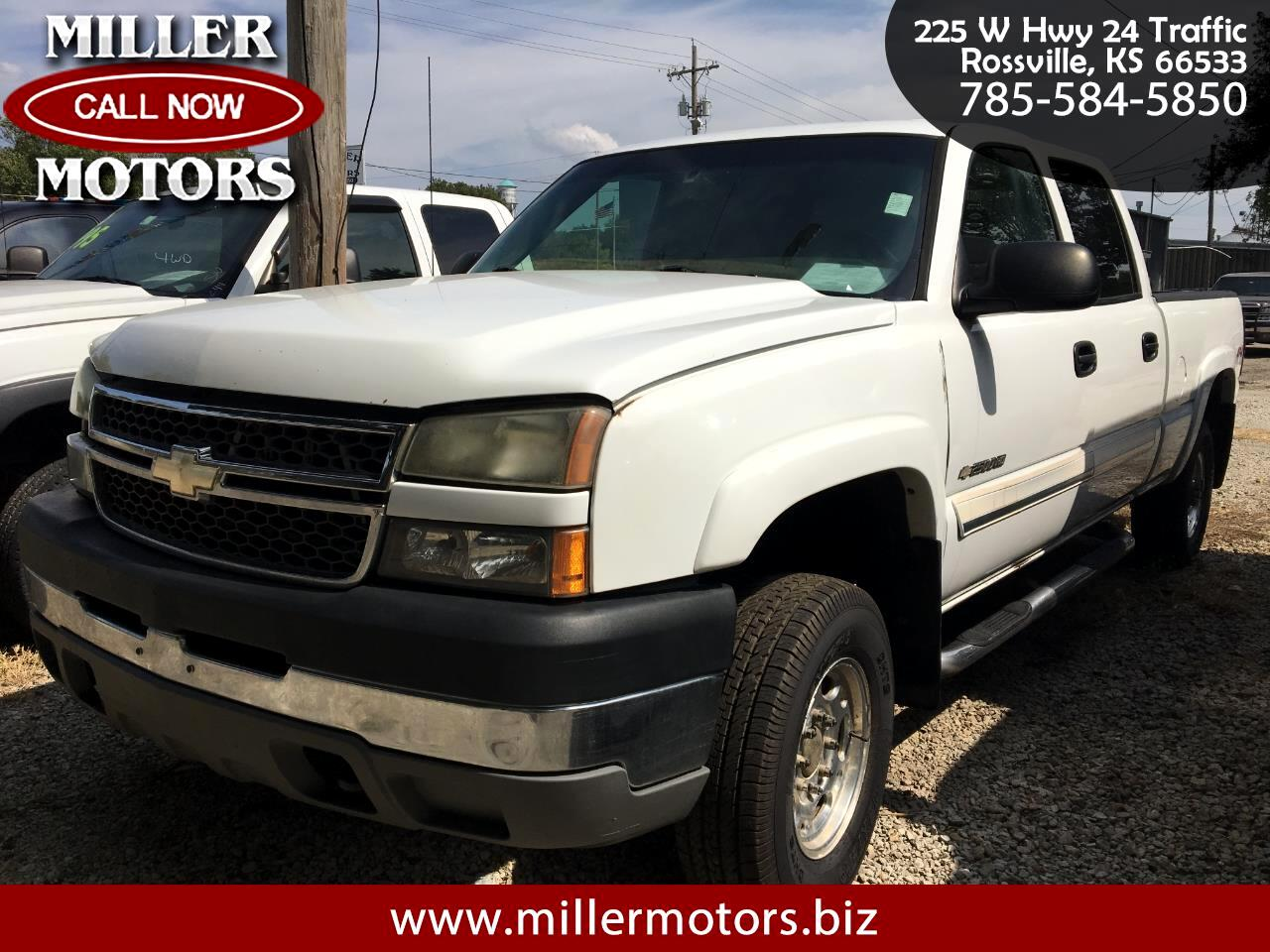 Chevrolet Silverado 2500HD LS Crew Cab Short Bed 4WD 2005