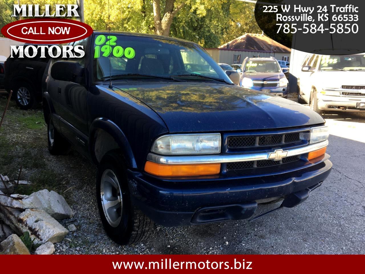 2002 Chevrolet Blazer 2dr LS