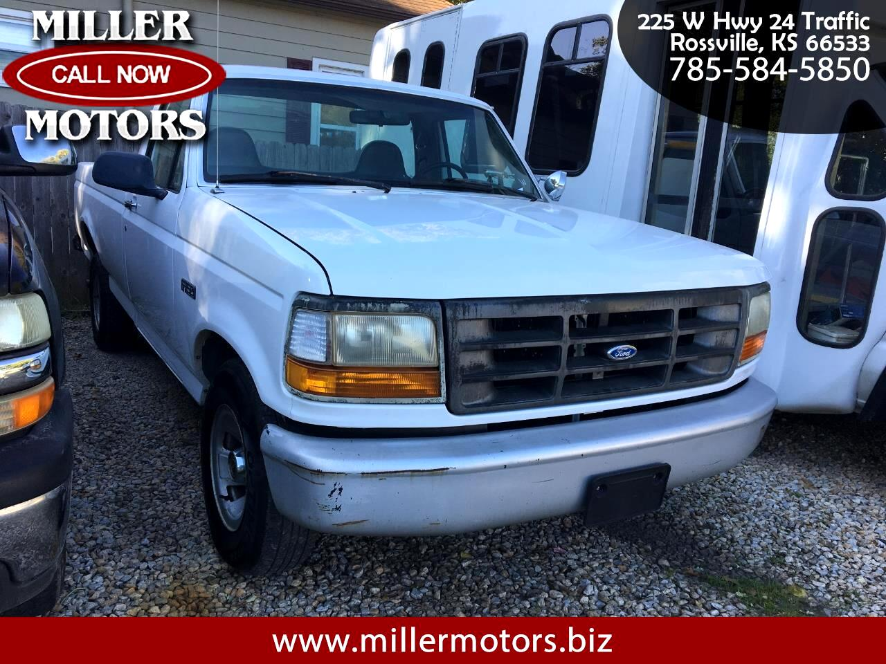 Ford F-150 Regular Cab 4WD 1996