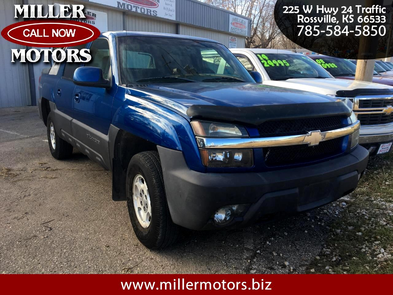 Chevrolet Avalanche 4WD Crew Cab LT 2003