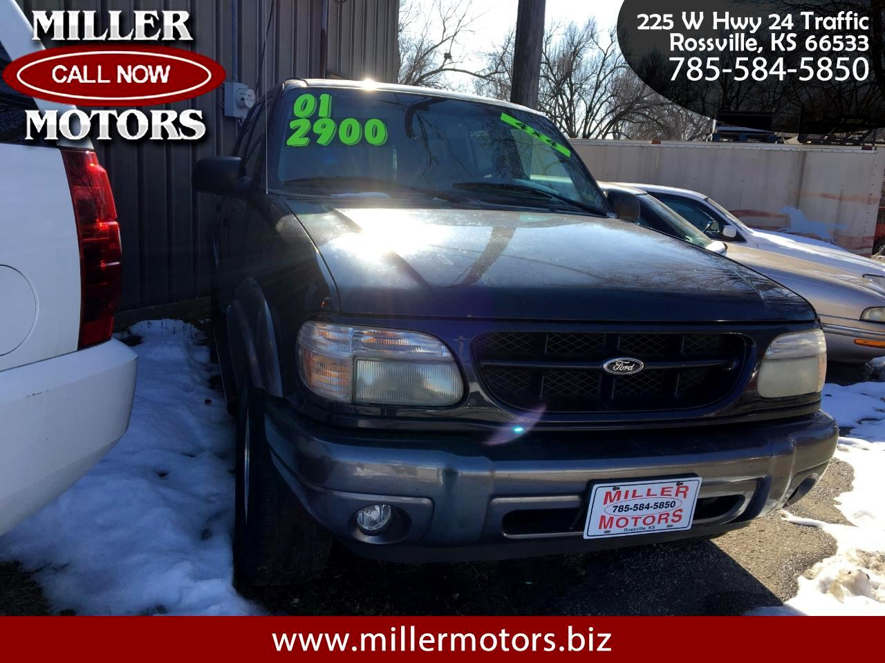 """Ford Explorer 4dr 112"""" WB XLT 4WD 2001"""