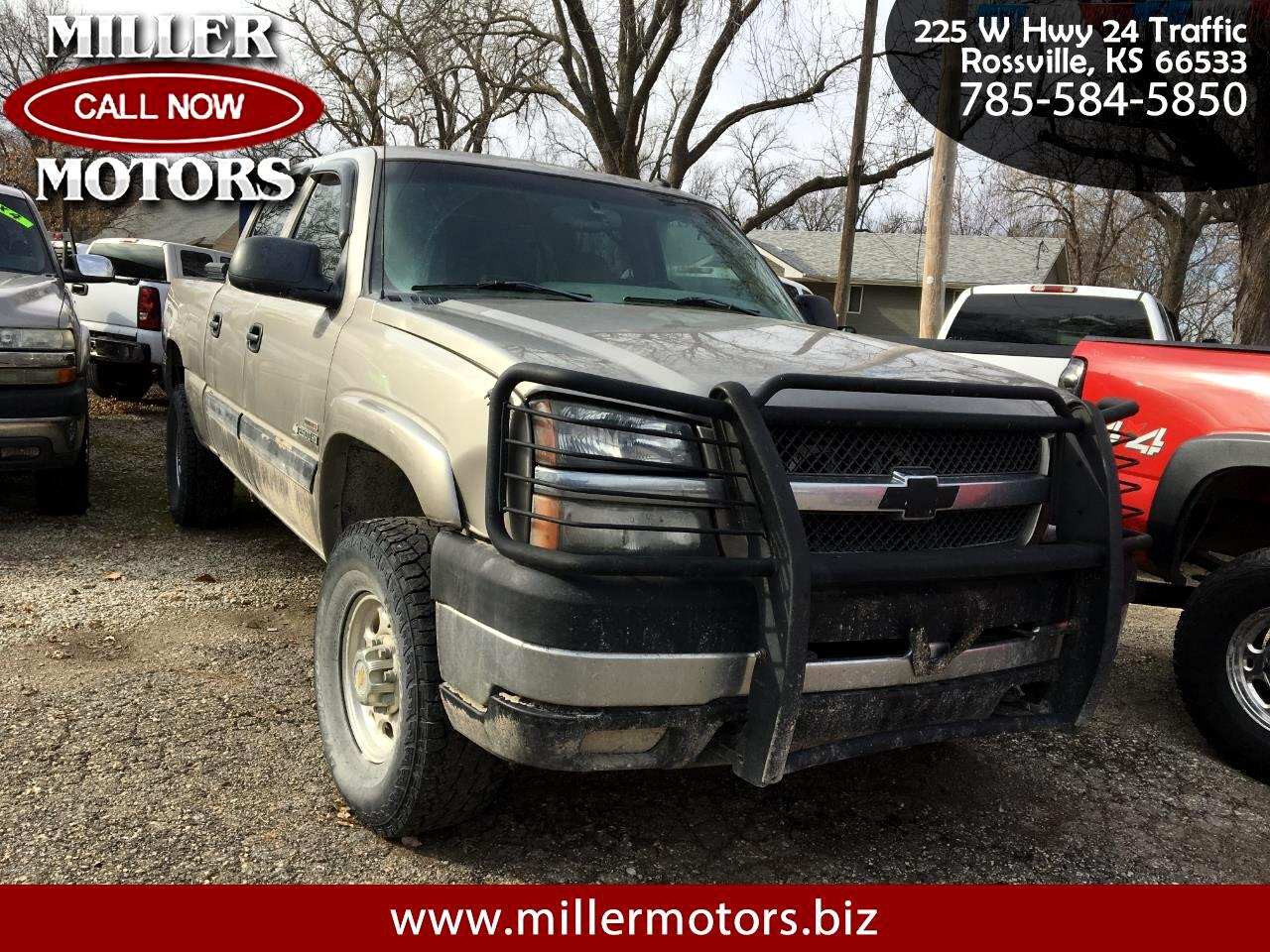 Chevrolet Silverado 2500HD LT Crew Cab Short Bed 4WD 2003