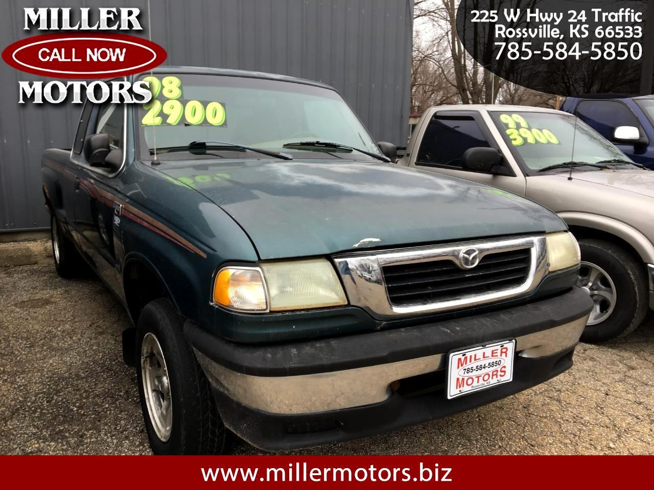 "Mazda B-Series 2WD Truck Cab Plus 125"" WB 4.0L V6 Man SE 1998"