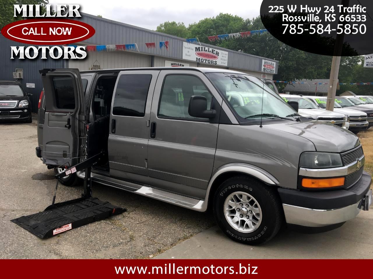 "Chevrolet Express Cargo Van 1500 135"" WB RWD YF7 Upfitter 2006"
