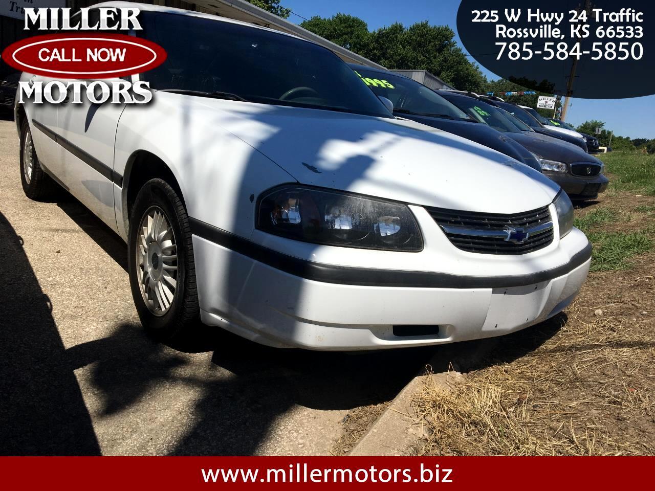 Chevrolet Impala 4dr Sdn 2000