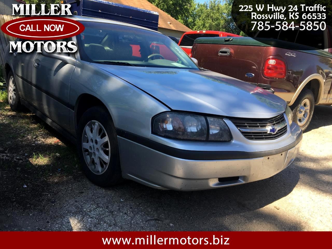Chevrolet Impala 4dr Sdn 2002