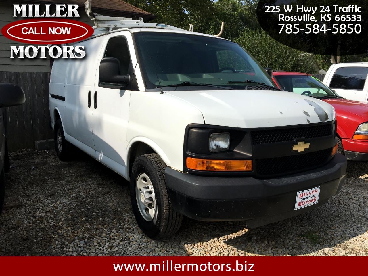 """Chevrolet Express Cargo Van RWD 2500 135"""" 2010"""