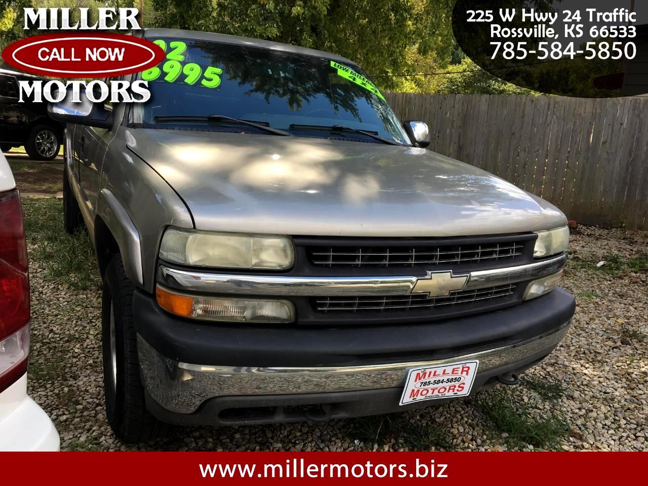 """Chevrolet Silverado 1500 Ext Cab 143.5"""" WB 4WD LS 2002"""