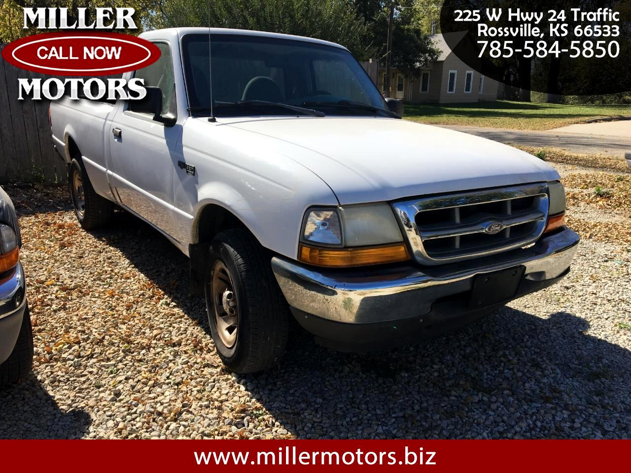 Ford Ranger XLT Reg. Cab Short Bed 2WD 1999