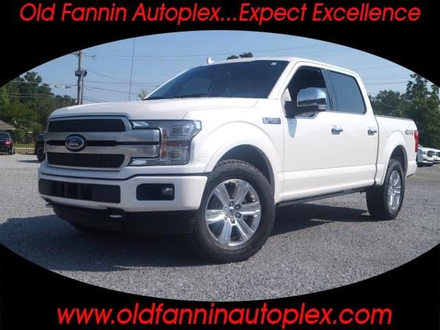 2018 Ford F-150 4x4 Platinum 4dr SuperCrew 5.5 ft. SB