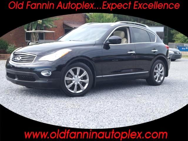 2012 Infiniti EX Base 4dr Crossover