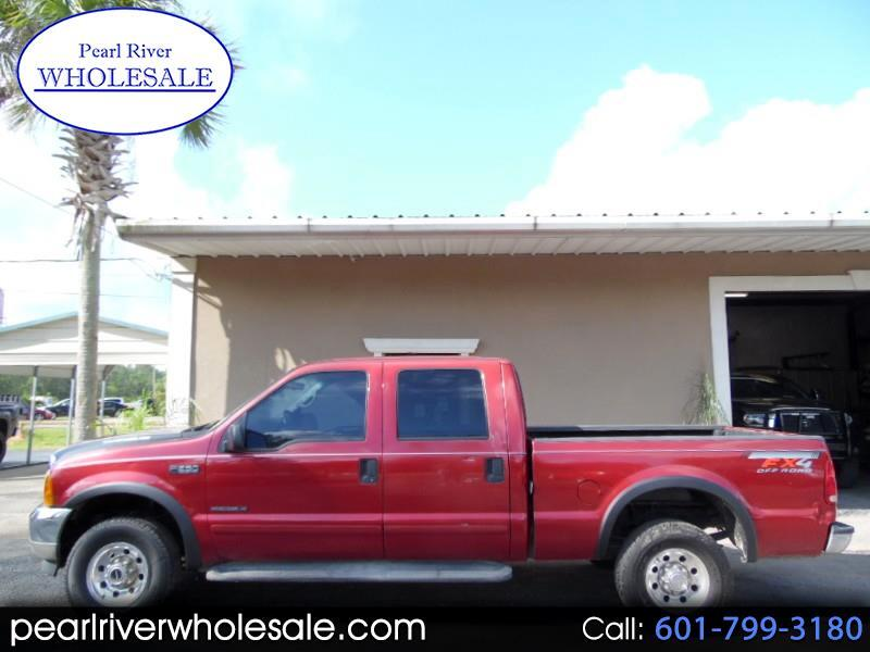 2001 Ford F-250 SD XLT Crew Cab Short Bed 4WD