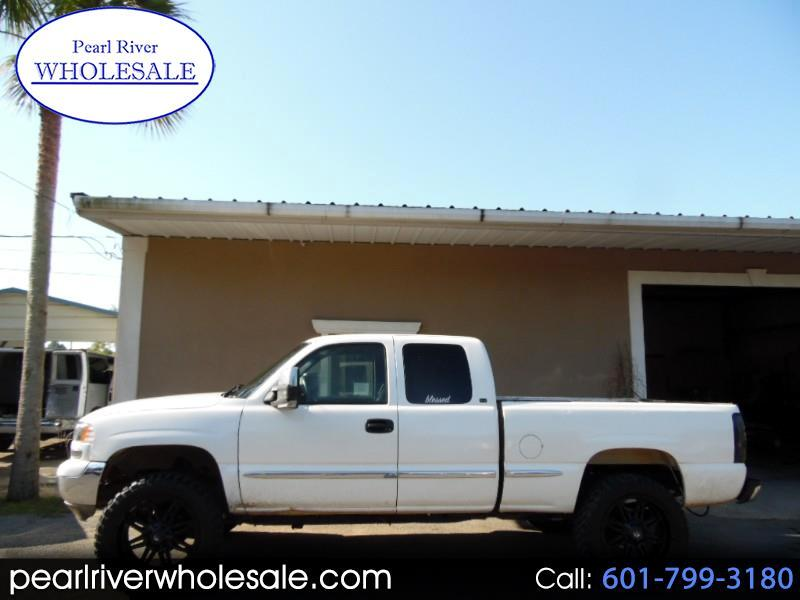 2000 GMC Sierra 1500 SLE Ext. Cab 3-Door Short Bed 4WD