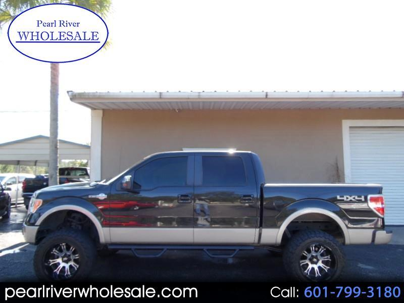 2010 Ford F-150 King Ranch 4WD SuperCrew 5.5' Box
