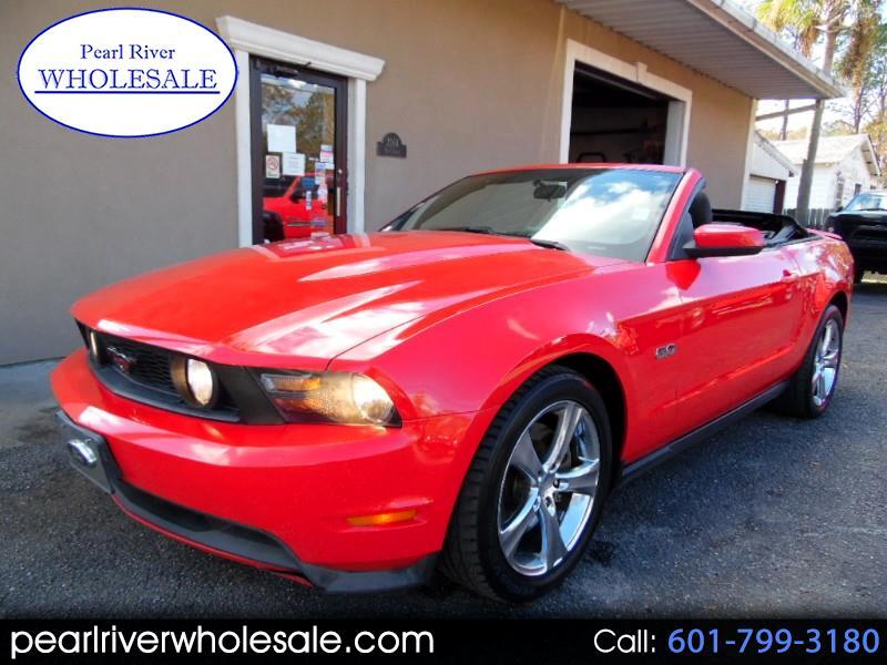 Ford Mustang GT convertible 2012