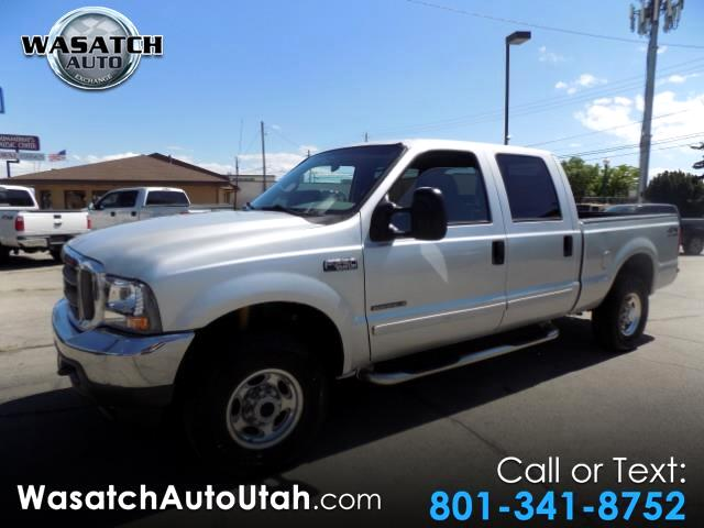 2002 Ford F-250 SD XLT Crew Cab Short Bed 4WD